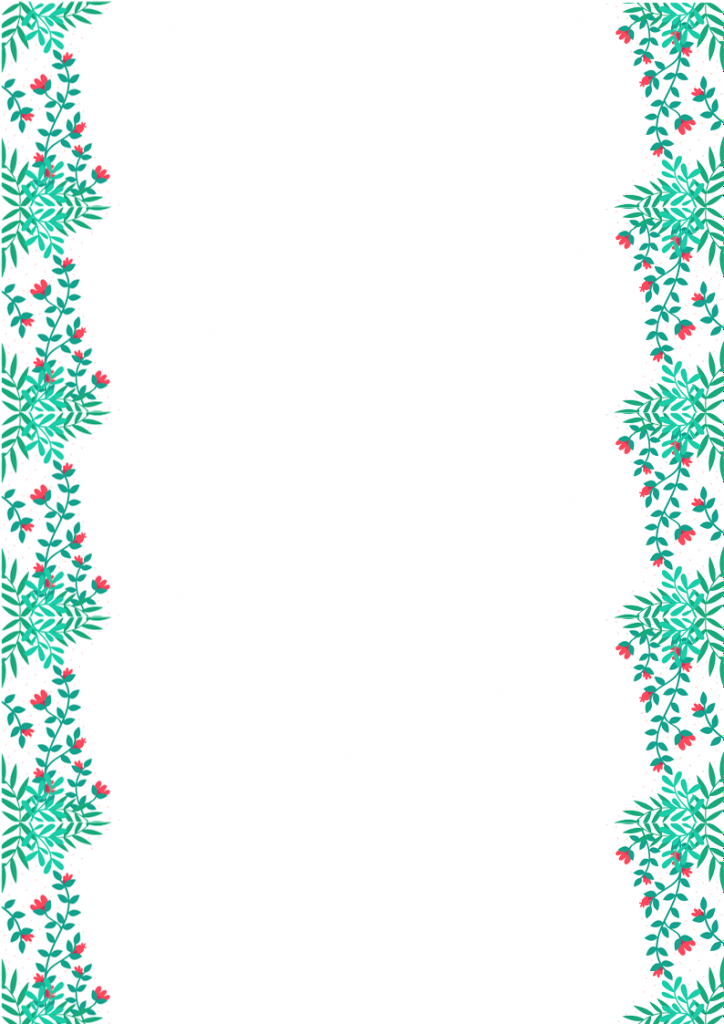 Flower Blog Background