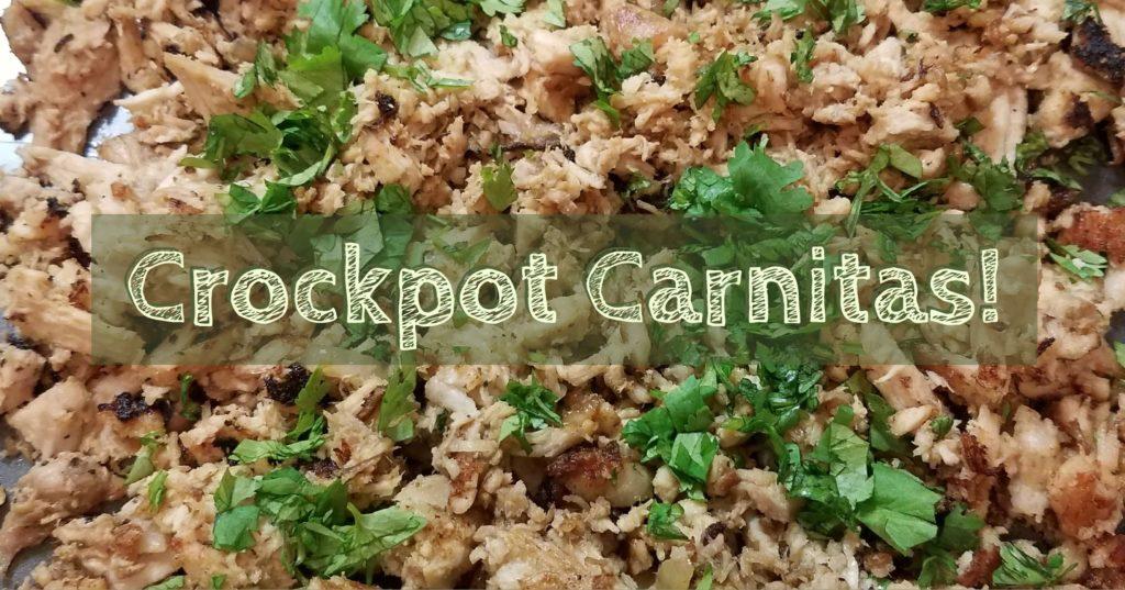 Crockpot Carnitas!