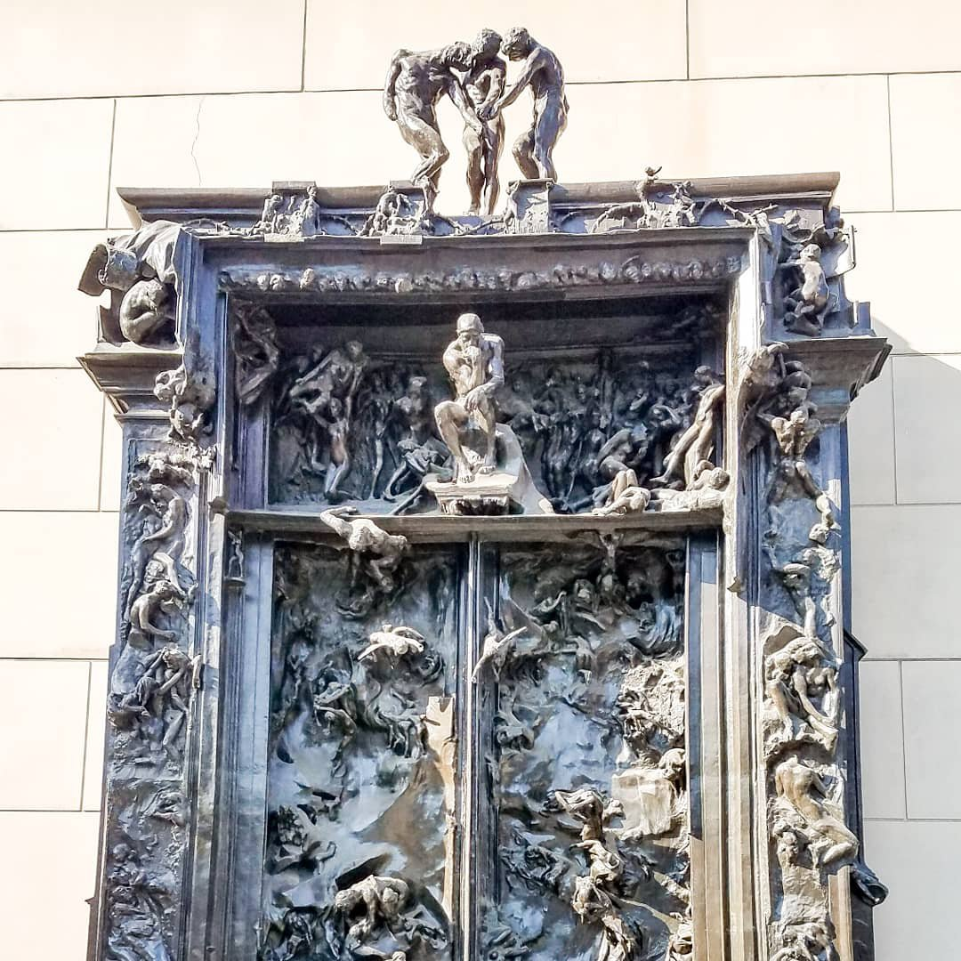 Auguste Rodin Bronze Sculpture The Gates of Hell